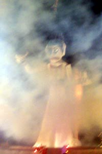 Zozobra right before burning